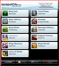 Jackpot City for iPad for iPad