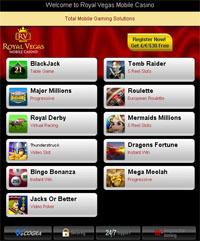 Royal Vegas for iPad for iPad